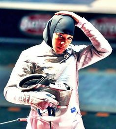 Ibtihaj Muhammad        First African-American Muslim female fencer in the history of the Olympics