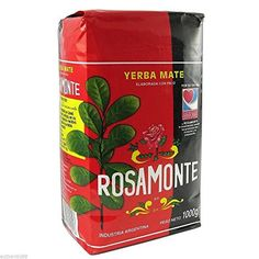 YERBA MATE ROSAMONTE 2.2lb 1 kilo - http://teacoffeestore.com/yerba-mate-rosamonte-2-2lb-1-kilo/