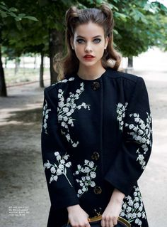 In the Mode   Barbara Palvin by Eric Guillemain for Vogue Australia, September 2011 #MiuMiu