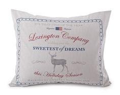 Unique Lexington Poplin Pillow Case, with overlap closure at the back.