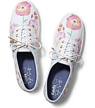 Taylor Swift's Champion Flower Painting, White #FallCollection #KEDS