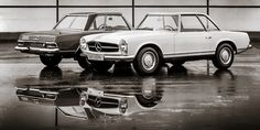 Mercedes-Benz W113 series 'Pagoda' SL. What a gorgeous design!