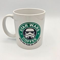 bcd2f7a2 May The Froth Be With You Star Wars Coffee Stormtrooper Mug Coffee Tea Cup  Humor #