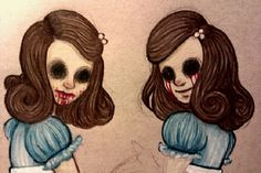 The Grady Twins via Still Can't Fly