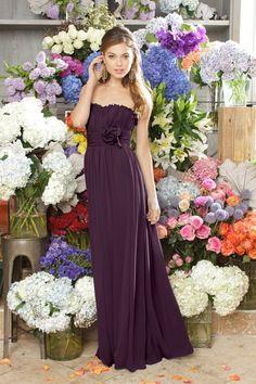 SO pretty for bride's maids dresses!
