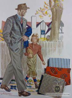 Laurence-Fellows-Fashion-Illustration-1944.jpg (517×700)