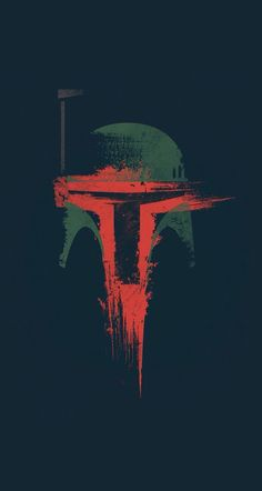 Boba Fett helmet iphone wallpaper