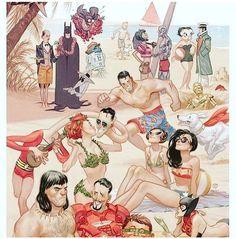 Happy #LaborDay everybody! Get out there and hit the #beach! #LaborDayWeekend #LaborDay2017 #BeachDay #SummersOver #Batman #IronMan #Conan #WonderWoman #Superman #PlasticMan #PoisonIvy #Krypto #C3PO #Batgirl #BettyBoop #AlfredENeuman #R2D2 #StarWars #MadMagazine #DCcomics #MarvelComics #DarkHorseComics