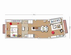 70 m2 dappartement tout en longueur