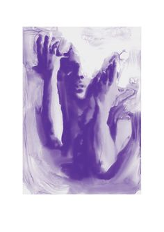 Purple Prince Hands #1 by TheOutsideWorld on Etsy