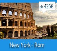 New York - Rome for 426€ http://airaroundticket.com/
