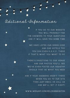 Rustic Wedding Invitations  Starry Nights suite by inoroutmedia, $2.60