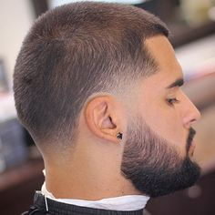 Buzz Cut with Beard