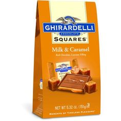 Ghirardelli Chocolate Milk Chocolate & Caramel Squares Chocolates Gift Bag, for sale online Ghirardelli Chocolate Squares, Chocolate Caramels, Chocolate Gifts, Best Halloween Candy, Halloween Crafts, Individually Wrapped Candy, Chocolate Company, Caramel Candy, Gourmet