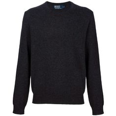 POLO RALPH LAUREN Classic sweater ($205) ❤ liked on Polyvore