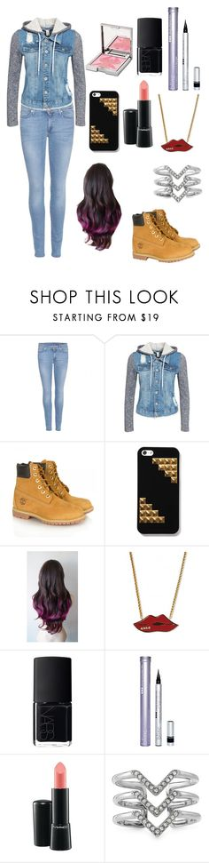 """""""Hangin' out w/ the BÆ"""" by janae-12 ❤ liked on Polyvore featuring 7 For All Mankind, NLY Trend, Timberland, Sonia Rykiel, NARS Cosmetics, Blinc, MAC Cosmetics, Stella & Dot and Sisley"""