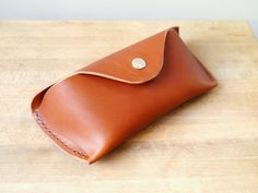 Leather Sunglasses Case / Glasses Protector by KingsleyLeather