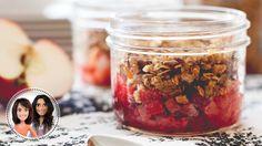 Try this Microwave apple-raspberry crisp recipe Healthy Desserts, Easy Desserts, Mug Cupcake, Fiber Nutrition, Raspberry Crisp, Microwave Apples, Micro Onde, Crisp Recipe, Recipe Details