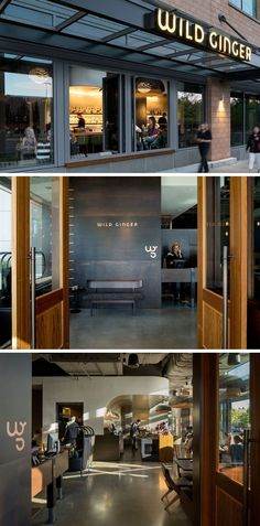 Seattle-based firm SkB Architects have recently completed the interior design for 'Wild Ginger', an established Southeast Asian restaurant that moved to a new location in Bellevue, Washington. #restaurantdesign