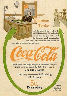 1909 coca-cola publicidad
