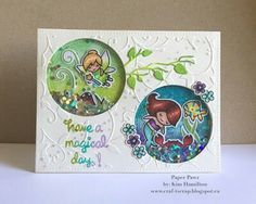 Inspiration: Lawn Fawn tiny fairy and mermaid