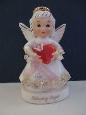 Vintage NAPCO Japan FEBRUARY Angel Heart Valentine  A1362