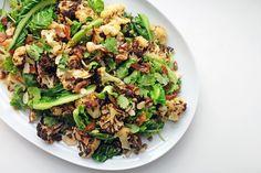Date and roast cauliflower salad