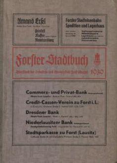 Forst (Lausitz)/Adressbuch 1939 – GenWiki