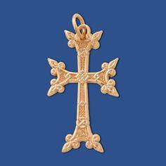 Siroun Cross (10kt Yellow Gold)
