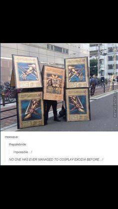 Quelqu'un a réussi à se cosplayer en Exodia - Yu-Gi-Oh! - Otaku