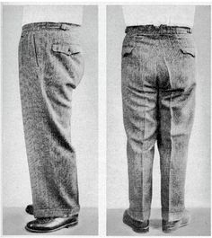 "How to fix ""horseshoe folds"" - suggestions work for male or female trousers."