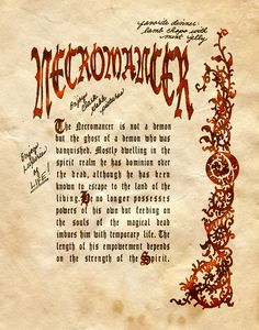"""""""Necromancer II"""" - Charmed - Book of Shadows"""