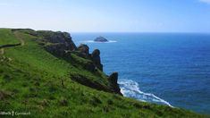Path to Pentire Point, near Polzeath, Cornwall