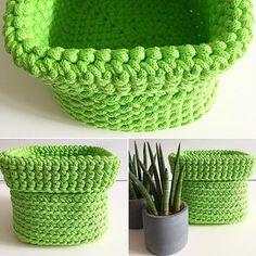 #jodlove  #green #fresh #handmade #crochetbasket #cottoncord #homedecoration #homedecor #thepolishcollective #rękodzieło #sznurekbawełniany #organized #forkids #forhome