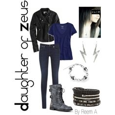 Daughter Of Zeus Casual Outfit, Cabin 1, Percy Jackson Inspired Outfit