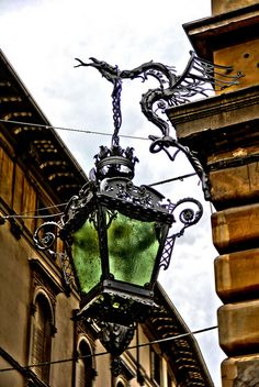 """""""Dragon holding lamp_Reggio Emilia""""  ~  Gardenia, Reggio nell'Emilia, Italy"""
