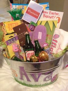 Easter Basket idea, as kids get older.