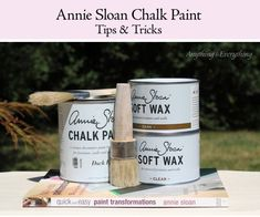Annie Sloan Chalk Paint Tips & Tricks - Anything & Everything