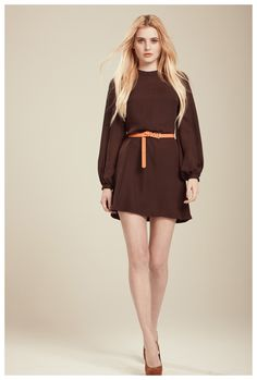 Francis Fall 2012 - Mimi silk georgette dress
