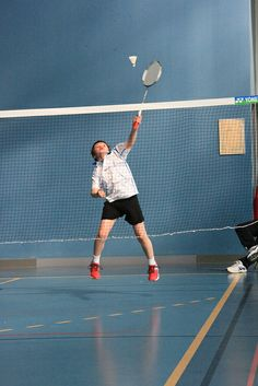 Badminton instant (1/1000s) IMG_8385 | Flickr - Photo Sharing!