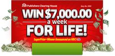 If you won $7,000.00 A Week For Life, what would you do first? All you have to do is click on the button below to access your free entry into this amazing sweepstakesandyou could become one of the lucky people to answer that question for real! So, what would be your first move? Just think [read more...]