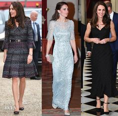 Catherine, Duchess of Cambridge In Chanel, Jenny Packman, and Alexander McQueen – In Paris