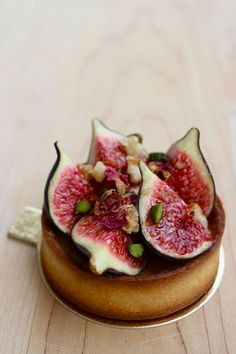 FIG TART with SPICED PEAR ~~~ there is a lot of flavor brilliance going on here :-) [talitaskitchen]