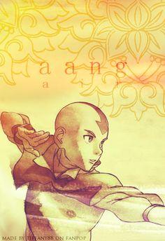 Aang - air - avatar-the-last-airbender Photo