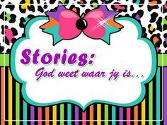 Stories: God weet waar jy is… Youth Ministry, Afrikaans, Holy Spirit, Teaching Kids, Thankful, Christian, Posts, God, Children