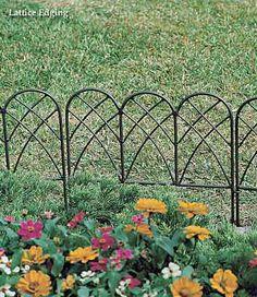 Decorative Garden Fencing