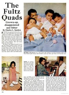 Fultz Quads in Ebony Magazine-pt 1, November 1968