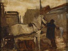 George Hendrik Breitner - Amsterdams stadsgezicht