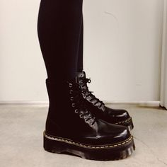Women's Fashion my love for combat boots is showing