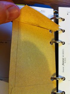 My Life All in One Place: Using envelopes to track tickets with your Filofax